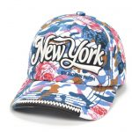 Robin-Ruth NY Floral Camouflage Cap- Dark