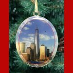 One World Trade Center Double Sided Ornament