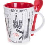 Popular Sites NYC 13 oz. Mug- Red