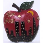 NYC Night Skyline Big Apple Magnet