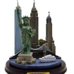 NYC Icons with Freedom Tower Color Paper Weight – Medium