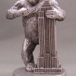 King Kong Empire State Pewter Figurine – 3 Inch