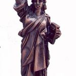 Copper Statue of Liberty – 5 Inch