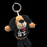 I Love NY Puppy Plush Key Chain