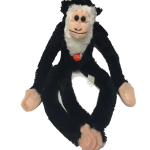 I Love NY Black Plush Screaming Monkey
