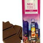 Times Square Crispy Milk Chocolate Bar