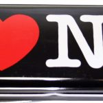 I Love NY Pencil Case – Black