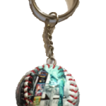 New York Times Square Baseball Key Chain