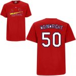 Adam Wainwright T-Shirt – Red St.Louis Cardinals Adult T-Shirt
