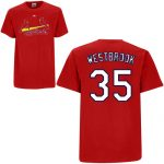Jake Westbrook T-Shirt – Red St.Louis Cardinals Adult T-Shirt