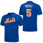 David Wright T-Shirt – Royal Blue Ny Mets Adult T-Shirt