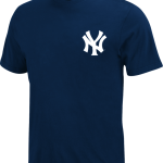 New York Yankees Majestic Wordmark Adult T-Shirt