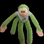 I Love NY Light Green Plush Screaming Monkey