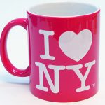 I Love NY Mug – Power Pink