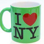I Love NY Mug – Slime Green