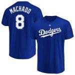 Manny Machado T-Shirt – Royal Blue Dodgers Adult T-Shirt