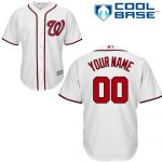 Washington Nationals Replica Personalized Home Jersey