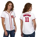 Ryan Zimmerman Washington Nationals Ladies Replica Jersey