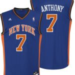 Carmelo Anthony Youth Replica Away Jersey – Revolution 30