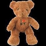 I Love NY Brown Medium Sized Hairy Plush Teddy Bear