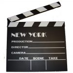 New York Movie Clapboard