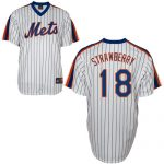 Darryl Strawberry Jersey – White New York Mets Cooperstown Throwback Jersey