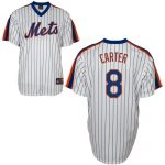 Gary Carter Jersey – White New York Mets Cooperstown Throwback Jersey