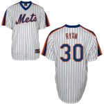 Nolan Ryan Jersey – White New York Mets Cooperstown Throwback Jersey