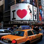 Times Square Billboard Photo Magnet