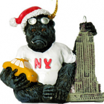 King Kong NYC Christmas Ornament