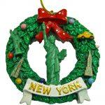 Statue of Liberty Wreath Ornament