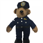NYPD Police Man Stuffed Animal