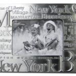 NYC Landmarks Pewter 4 x 6 Picture Frame
