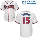 A.J. Pierzynski Jersey – Atlanta Braves Replica Adult Home Jersey