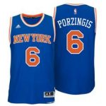New York Knicks Kristaps Porzingis Adult Replica Road Jersey