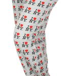 I Love NY Grey Allover Print Pajama
