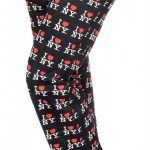 I Love NY Black Allover Print Pajama