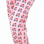 I Love NY Pink Allover Print Pajama