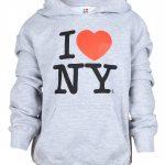 I Love NY Ash Kids Sweatshirt
