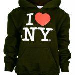 I Love NY Black Kids Sweatshirt