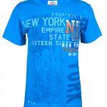NY Established 1664 Blue Kids T-Shirt