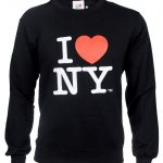 I Love NY Crewneck Sweatshirt – Black