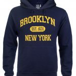 Brooklyn Est 1631 Hooded Sweatshirt – Navy