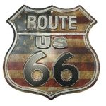 USA Route 66 Street Sign