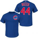 Anthony Rizzo T-Shirt – Blue Chicago Cubs Adult T-Shirt
