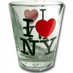 I Love NY Glass Shotglass
