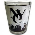 NYC Interlocking Skyline Shotglass