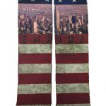 USA Distressed Flag Tube Socks