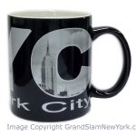 NYC Iconic Letters Black 11oz Mug