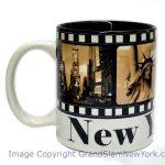 NYC Filmstrip Sepia 11oz Mug